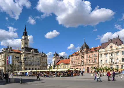 Novi Sad from Different Angle - walking tour