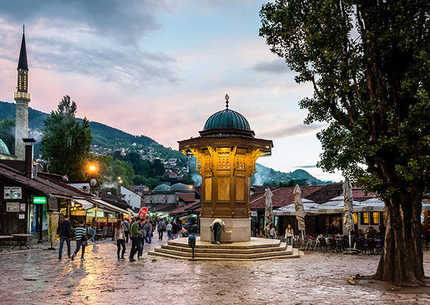 One day excursion to Višegrad and Sarajevo - departure from Zlatibor